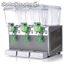 Cold drinks machine-mod. extra stainless 20/3-for non-carbonated drinks-# 20 x 3