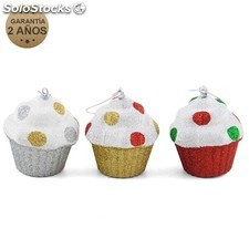 Colgante muffin 8CM color surtido