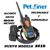 Collar adiestramiento petainer PET617. Recargable y sumergible. Alcance 600 mts