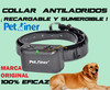 Collar antiladridos con descargas. Petrainer PET850. Recargable y sumergible