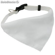 Collar bandana blanco