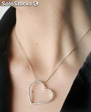 Collar plata esterlina 925 hecha en italia