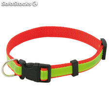 Collar reflectante rojo