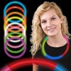Collares Luminosos, Glow, tricolor, 50 uds