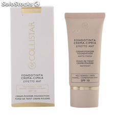 Collistar - CREAM POWDER matte finish 04-hazelnut 30 ml