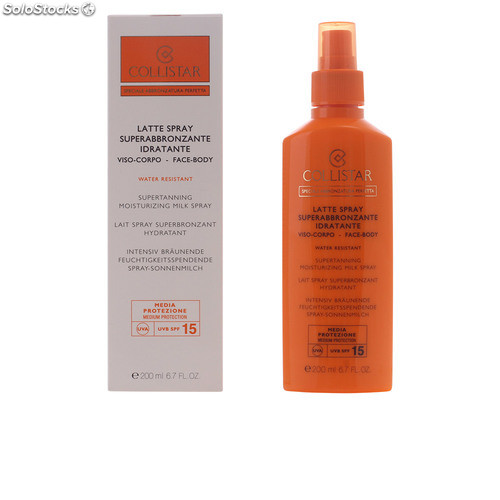 Collistar perfect tanning moisturizing milk SPF15 200 ml