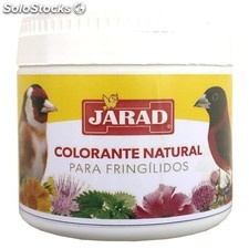 Colorante natural para fringilidos