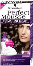 Coloration 400 chatain fonce nectra color perfect mousse