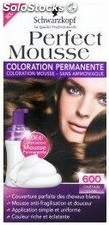 Coloration 468 chatain choco nectra color perfect mousse