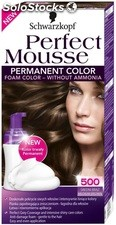 Coloration 500 chatain natur.nectra color perfect mousse