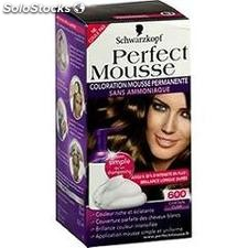 Coloration 600 chatain clair perfect mousse