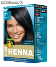 Coloration Aroma Color Henna - couleur noir