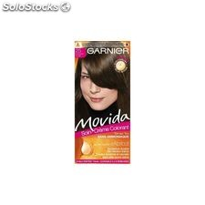 Coloration chatain clair movida