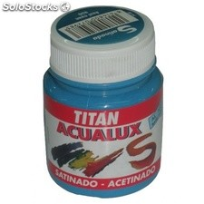 Colores Azules Acualux Titan 839-Azul Cyan Bote 80 mL