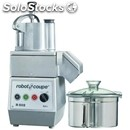Combined cutter/vegetable slicers professional-mod. r 502-capacity stainless