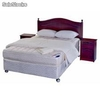 Combo Completo Box Spring 2 Plazas Flex Therapedic