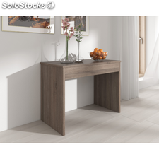 Comfort Relax-Mesa consola extensible hasta 301 cm, Roble Oscuro