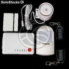 Compact GSM alarm with wireless sensors and emergency button model SS608 (LA26)