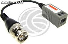 Compact Passive Balun Cable (BNC to Terminal Block 2-pin) (SK05)