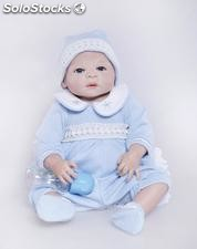 Complète silicone simulation baby doll 58cm