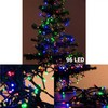 Comprar guirnalda luces multicolor decorativas 96 led 7,7 metros