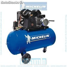 Compresor 100 lt. - 3 hp- 10 bar- 350 lt./min. - michelin - Ref: ca-v