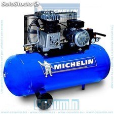 Compresor 200 lt. - 3 hp- 10 bar- 350 lt./min. - michelin - Ref: ca-m