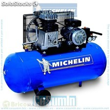 Compresor 200 lt. - 3 hp- 10 bar- 350 lt./min. Trifásico - michelin -