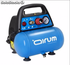 Compresor airum new vento ol195 (1.5hp/6l) (sin aceite)