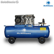 Compresor de Aire McWilliams 150 Litros 3 Cv (Doble Etapa)