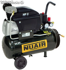 Compresor nuair fc2/24 tech (2hp/24l)