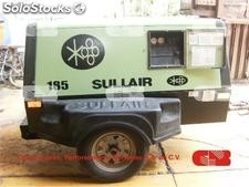 Compresor Sullair 185 pcm 185jd año 2010