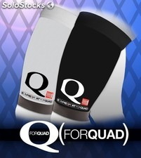 Compressport forquad - compresión selectiva cuádriceps- color blanco o negro
