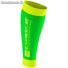 Compressport Perneras R2 Race & Recovery Verde Fluo