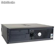Computador Dell gx 755 Desktop Core 2 Duo 2600 Mhz com 2048 Mb Ram e 80 Gb hdd