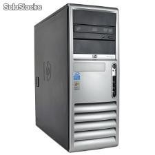 Computador hp dc 7700 Tower Core 2 Duo 2100 Mhz, 1024 Mb Ram, 80 Gb hdd, dvdrw