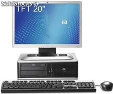 Computador hp dc 7900 sff Core 2 Duo 3000 Mhz, 2048 Ram, 160 Gb hdd, + tft 20''