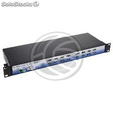 Concentrador de 16 puertos USB industrial rack 19 (US60)