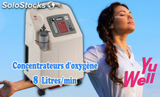 Concentrateurs d'oxygène 8 LPM