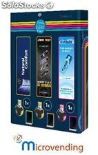 Condom, Chewing and Lighters vending machine 3 channels, uniblock3