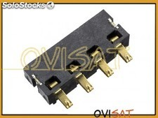 Conector de batería para Alcatel One Touch Pop C7 Dual (7041D) y Alcatel One