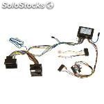 Conector doble iso audi 2004 > full bose system , parrot