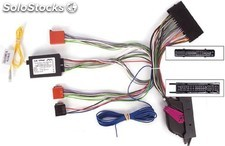Conector doble iso Audi 2007 -> , parrot