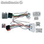 Conector doble iso nissan varios , parrot