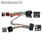 Conector doble iso para ford 2007 > , parrot