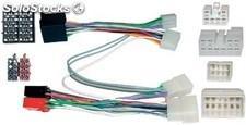 Conector doble ISO Toyota , Parrot