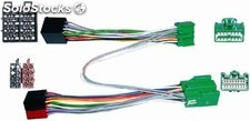 Conector doble iso Volvo 2003 > , parrot