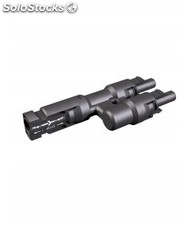 Conector multicontact doble mc4, 4 y 6 mm