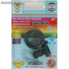 "Conector Riego 12X3/4"" Goteo S&M Pp Grifo Hemb. 543654"