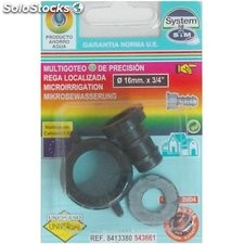 "Conector Riego 16X3/4"" Goteo S&M Pp Grifo Hemb. 543661"